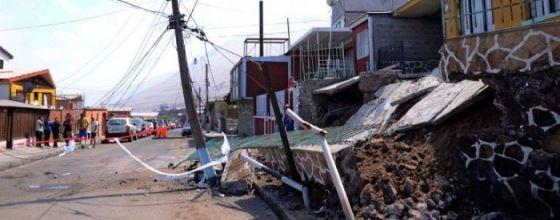 Daños en viviendas por Terremotos